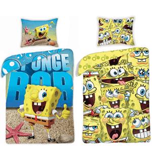 Lenjerie de pat Sponge Bob pentru baieti
