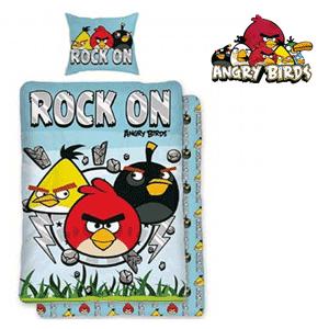Lenjerii de pat baieti Angry Birds