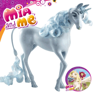 Mia and Me Unicornul Ponei Magic Wind Jucarie Figurina