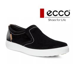 Pantofi casual barbatesti din piele intoarsa ECCO Soft 7