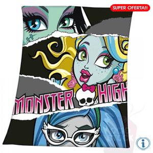 Patura FrankieStein, Lagoona Blue si Ghoulia Monster High