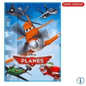 Paturi si paturici Avioane Disney Planes pentru baieti
