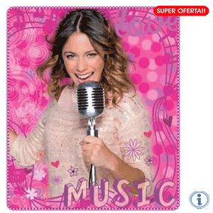 Paturica polar Disney Violetta Music Pink