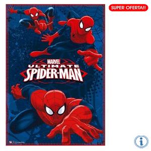 Paturica polar Spiderman 100 x 150 cm