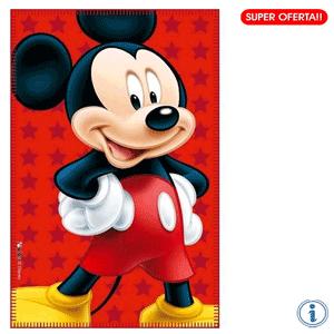 Paturica copii Disney Mickey Mouse 100 x 150 cm