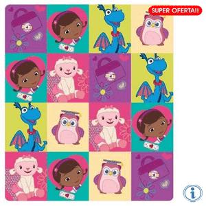 Paturici pentru fetite Fleece Disney Doctorita Plusica Story