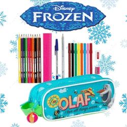 Penar dublu echipat Disney Frozen Olaf