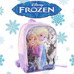 Rucsac mediu Disney Frozen pentru gradinita si scoala