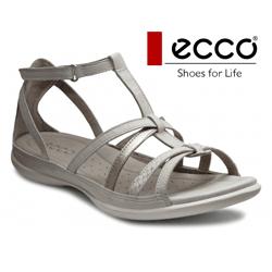 Sandale dama comode din piele naturala ECCO Flash