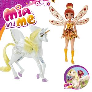 Set Jucarie Mattel Yuko si Unicornul Onchao
