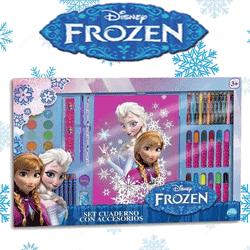 Set desen 54 piese Disney Frozen