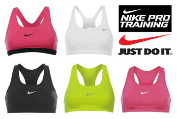 mai multe modele Sutiene pentru Sala de Fitness / Sutiene sport Nike de antrenament