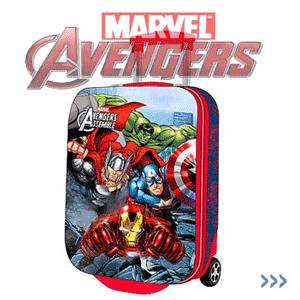 Troler baieti tema personaje Marvel Eroi Avengers