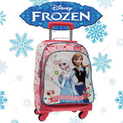 Troler convertibil in rucsac Disney Frozen Regatul de Gheata