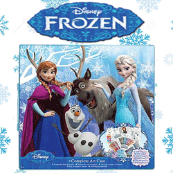 Tabla magnetica Disney Frozen Anna si Elsa