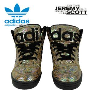 adidas Originals Jeremy Scott Instinct HI Rainbow Snake Print