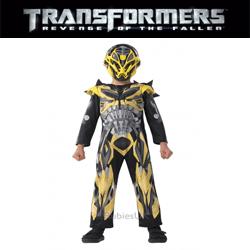 Costume ieftine de carnaval pentru baieti Robotii Transformers Bumble Bee