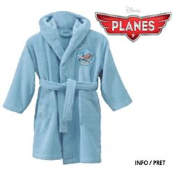 Halate de baie bumbac absorbant pentru baieti Disney Planes 2-4 6-8 10-12 ani