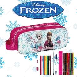 Rechizite scolare Disney Frozen Anna, Elsa si Olaf