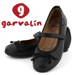 Balerini din piele Garvalin pentru fetite