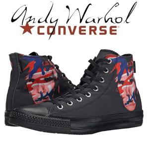 Bascheti Converse Chuck Taylor All Star Andy Warhol Hi negru