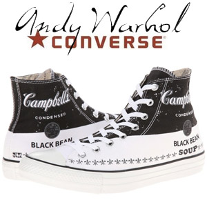 Bascheti Converse Chuck Taylor All Star Andy Warhol Hi