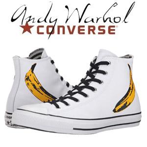 Bascheti din piele Converse Chuck Taylor All Star Andy Warhol Hi
