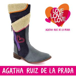 Cizme Agatha Ruiz de la Prada pentru fetite