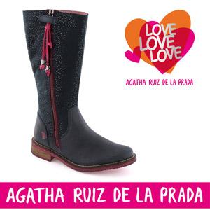 Cizme fete din piele model 151982A - Agatha Ruiz de la Prada
