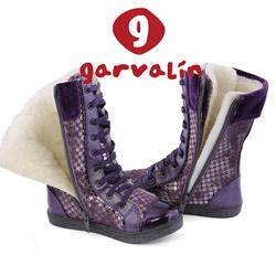 Cizme imblanite pentru fetite Garvalin