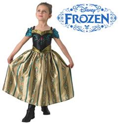 Costum de carnaval Printesa Anna Ziua Incoronarii