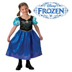 Cele mai frumoase costume pentru fetite seria Frozen cu Anna si Elsa