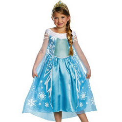 Costume de petrecere si Halloween pentru fetite Disney Frozen