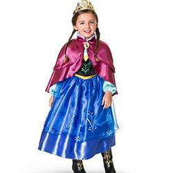 Costume ieftine de bal mascat Disney Frozen pentru fete si fetite