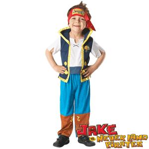 Costume tematice Copii Piratii Jake si Izzy din Tara de Nicaieri