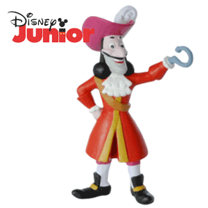 Figurina Capitanul Hook Jake si Piratii din Tara de Nicaieri