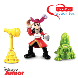 Figurina Fisher-Price Captain Hook