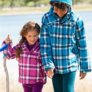 Geci 3 in 1 pentru copii antivant impermeabile cu fleece