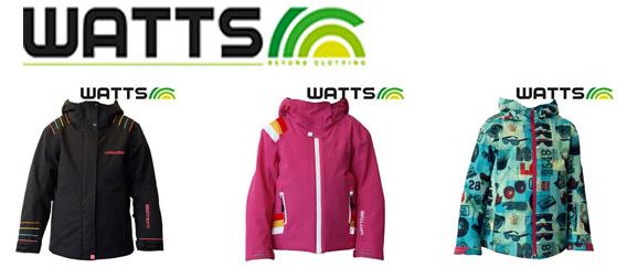 Oferta de geci de ski impermeabile WATTS pentru fete si baieti