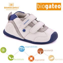 Incaltaminte bebe baieti pantofi sport 112148F Biogateo Biomecanics la BigStep