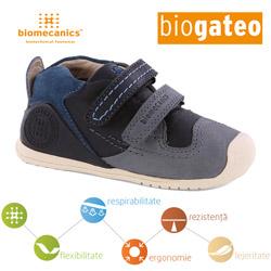 Incaltaminte din piele baietei bebe 0-2 ani Biogateo 141151A