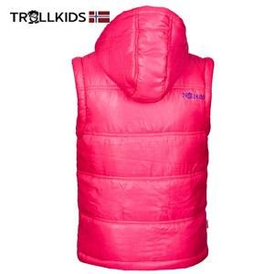 Jacheta 2 in 1 Gecuta si Vesta captusita pentru fetite culoare roz