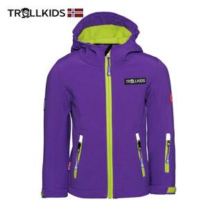 Jacheta usoara copii antivant impermeabila Trollkids Oslofjord
