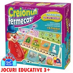 Joc educativ 3 ani Creionul Fermecat Alfabetul si Numerele