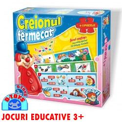 Joc educativ Creionul Fermecat Puzzle copii 3 ani