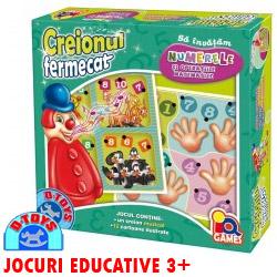 Jocul Creionul Fermecat Numerele jocuri educative copii 3 ani