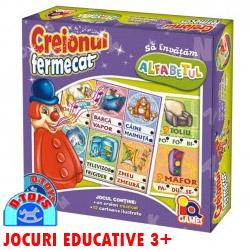 Jocul educativ Creionul Fermecat Alfabetul