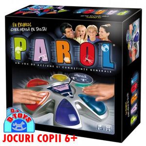 Jocuri copii 6-7-8 ani cunostinte generale PAROL D-TOYS