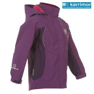 Karrimor Urban Weathertite Waterproof Jacket Geaca anti vant pentru copii