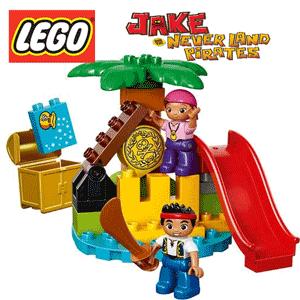 LEGO Duplo Jake si Comoara Piratilor din Tara de Nicaieri